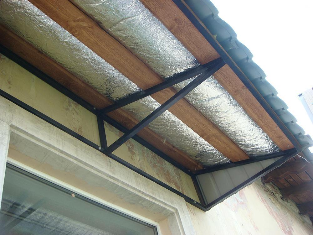 Крыша на балкон харьков, ремонт крыши на балконе в харькове..