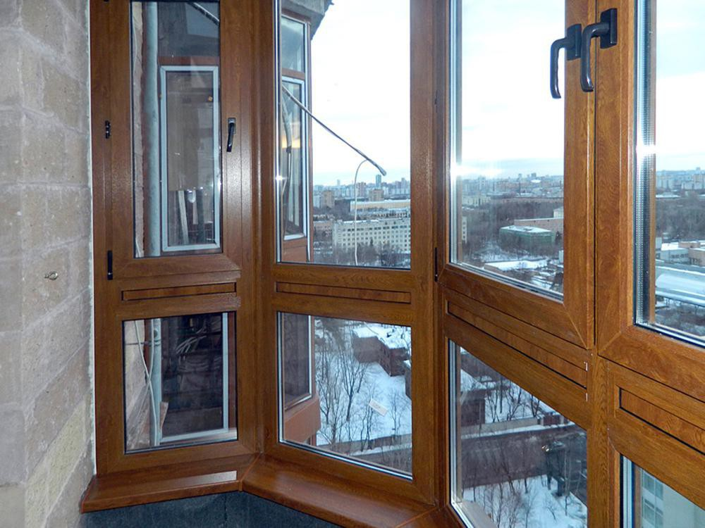 Остекление балкона, варианты остекления балкона, холодный и .