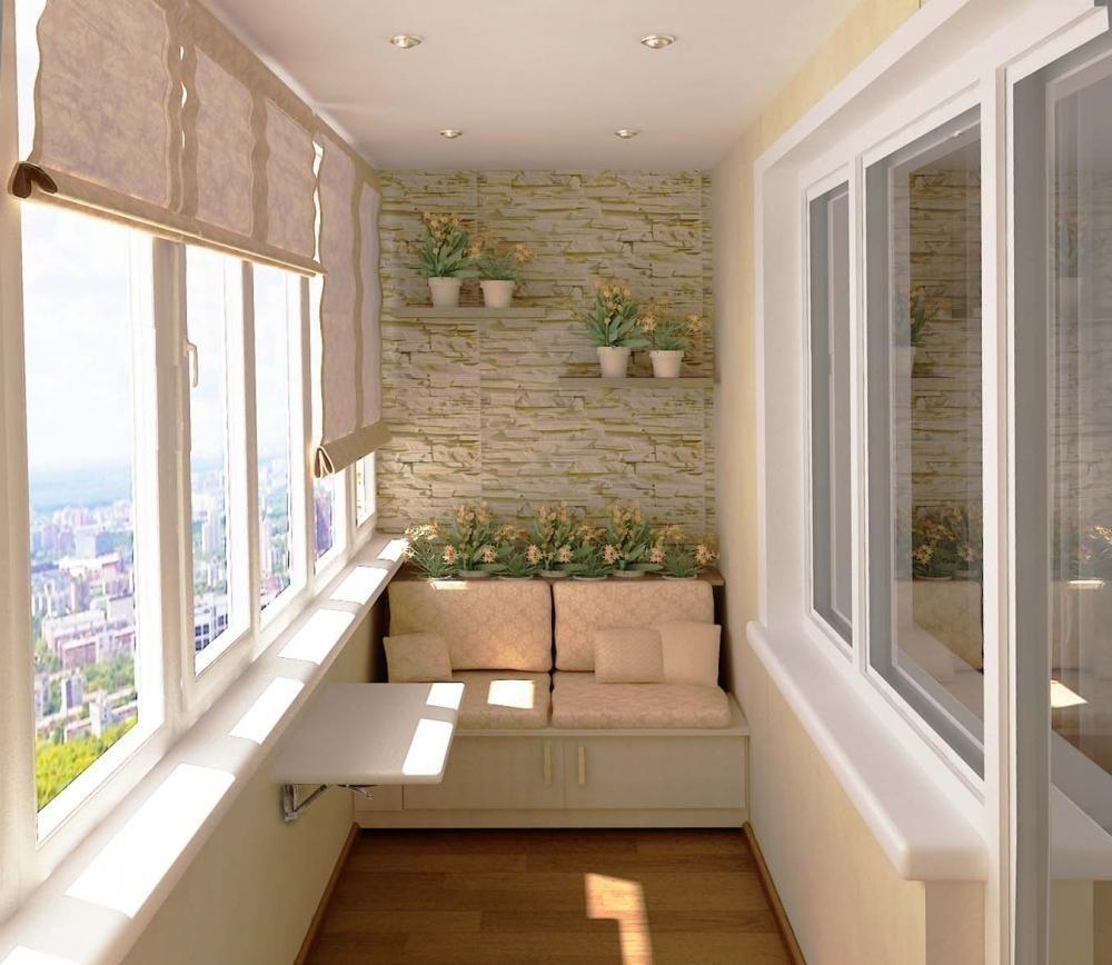 Красивый балкон своими руками