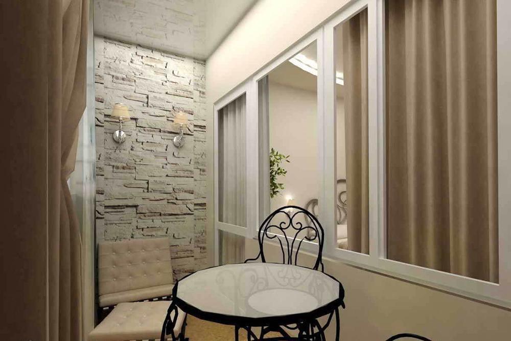 Примеры обшивки балконов и лоджий.