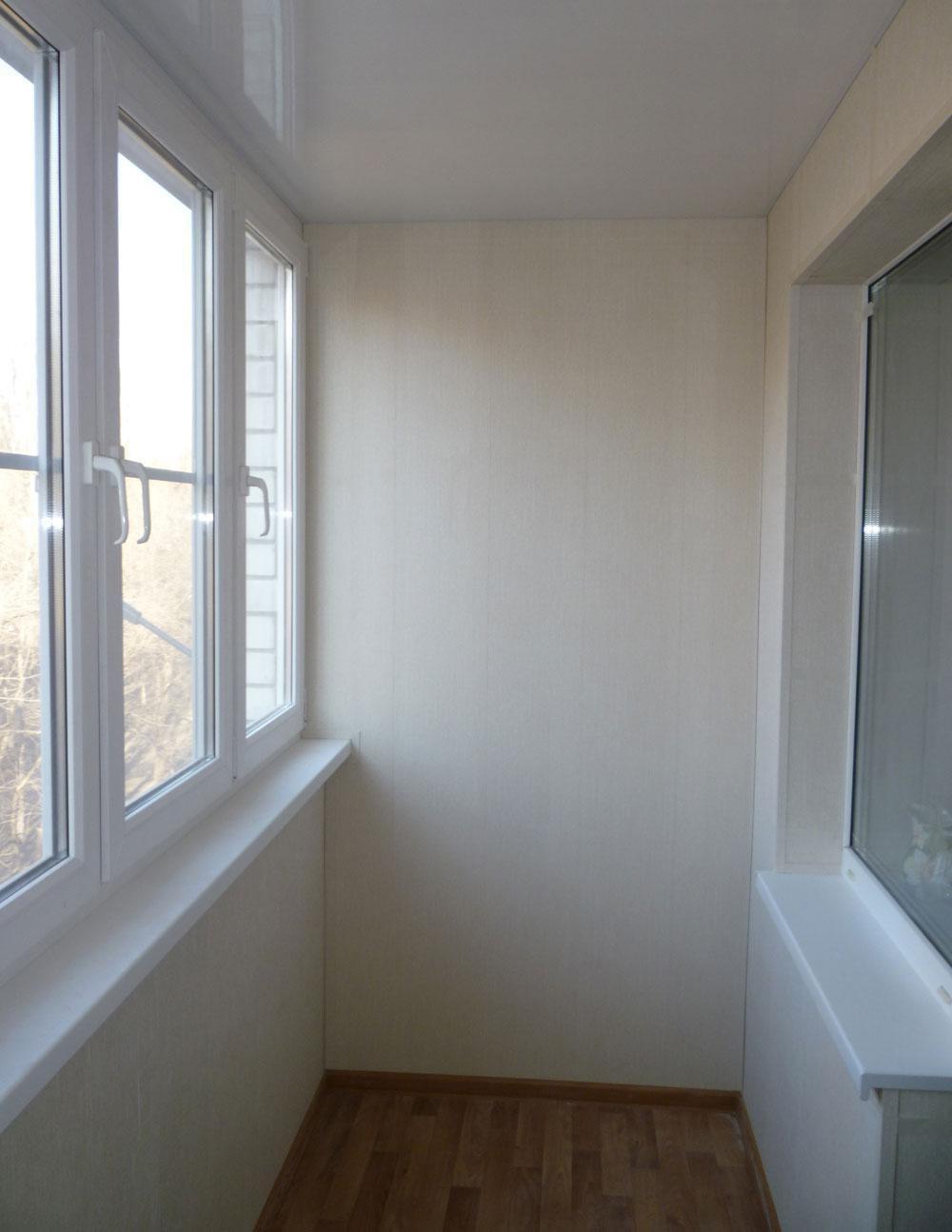 Отделка балконов по доступным ценам.