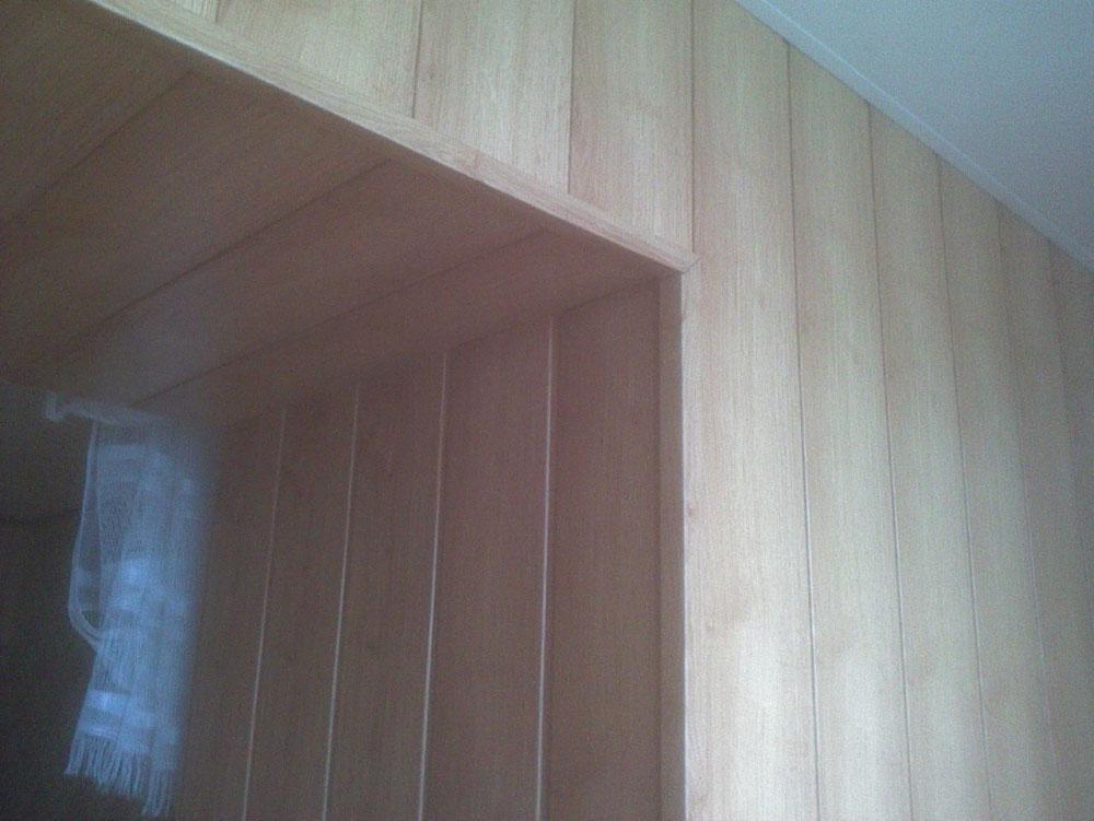 Примеры обшивки балконов панелями мдф.