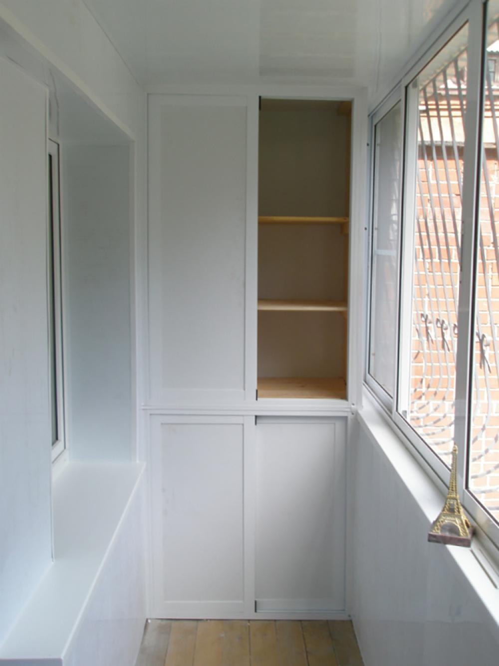 Изготовление шкафов для балконов и лоджий.