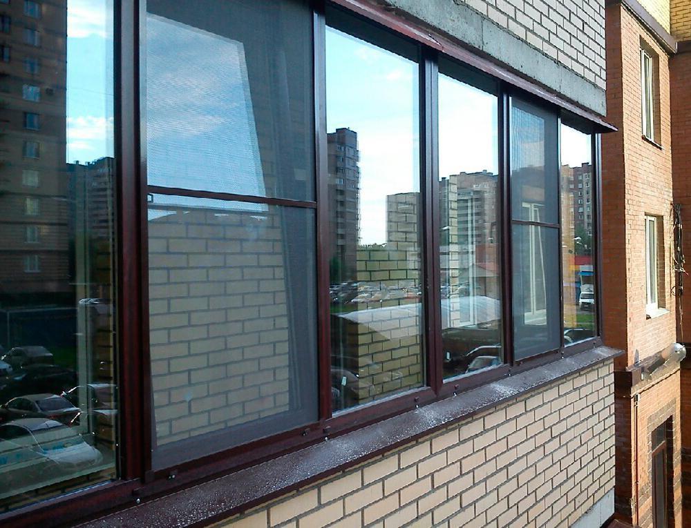 Цены на тёплые окна для балконов и лоджий.