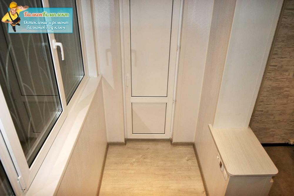 Примеры остекления и ремонта балконов и лоджий.