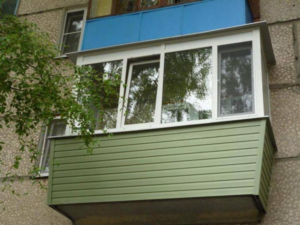 Отделка балконов фото.