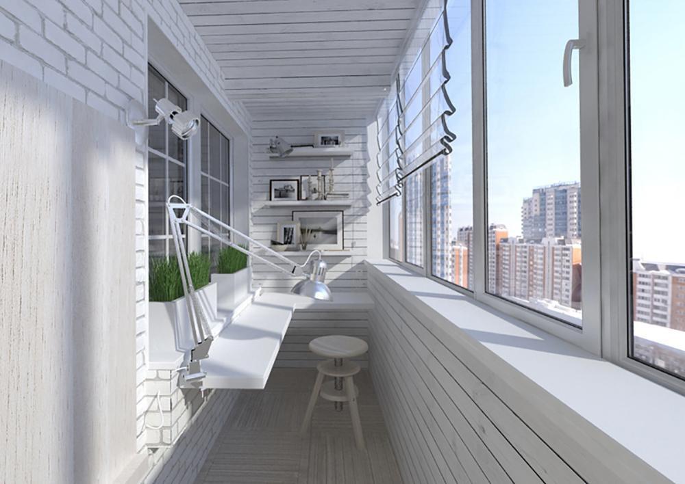 Идеи дизайна балконов и лоджий на фото и видео.
