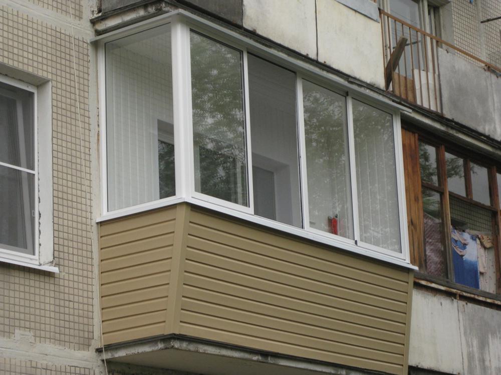 Застеклить балкон 3 метра: стоимость остекления.