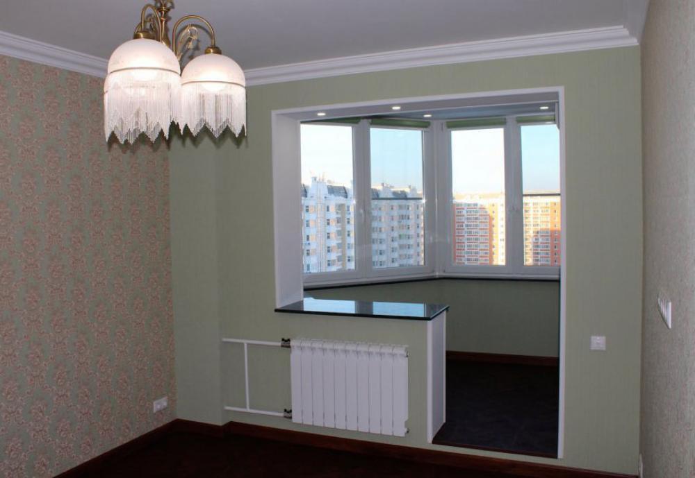 Присоединенный балкон п44 дизайн комнаты.