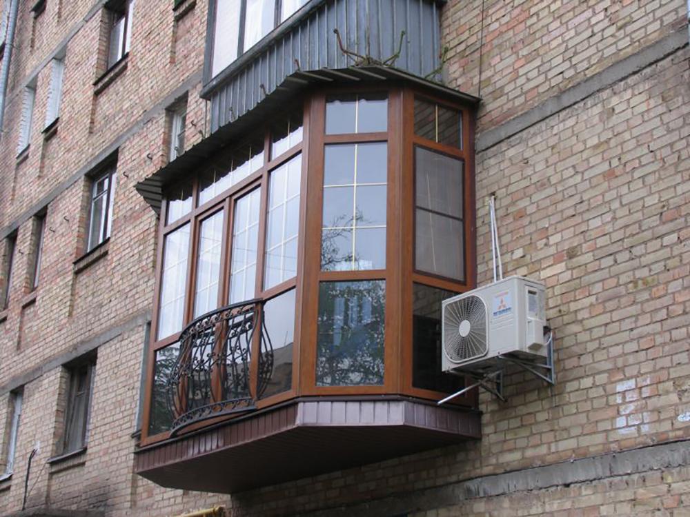 Какие бывают козырьки на балконе.