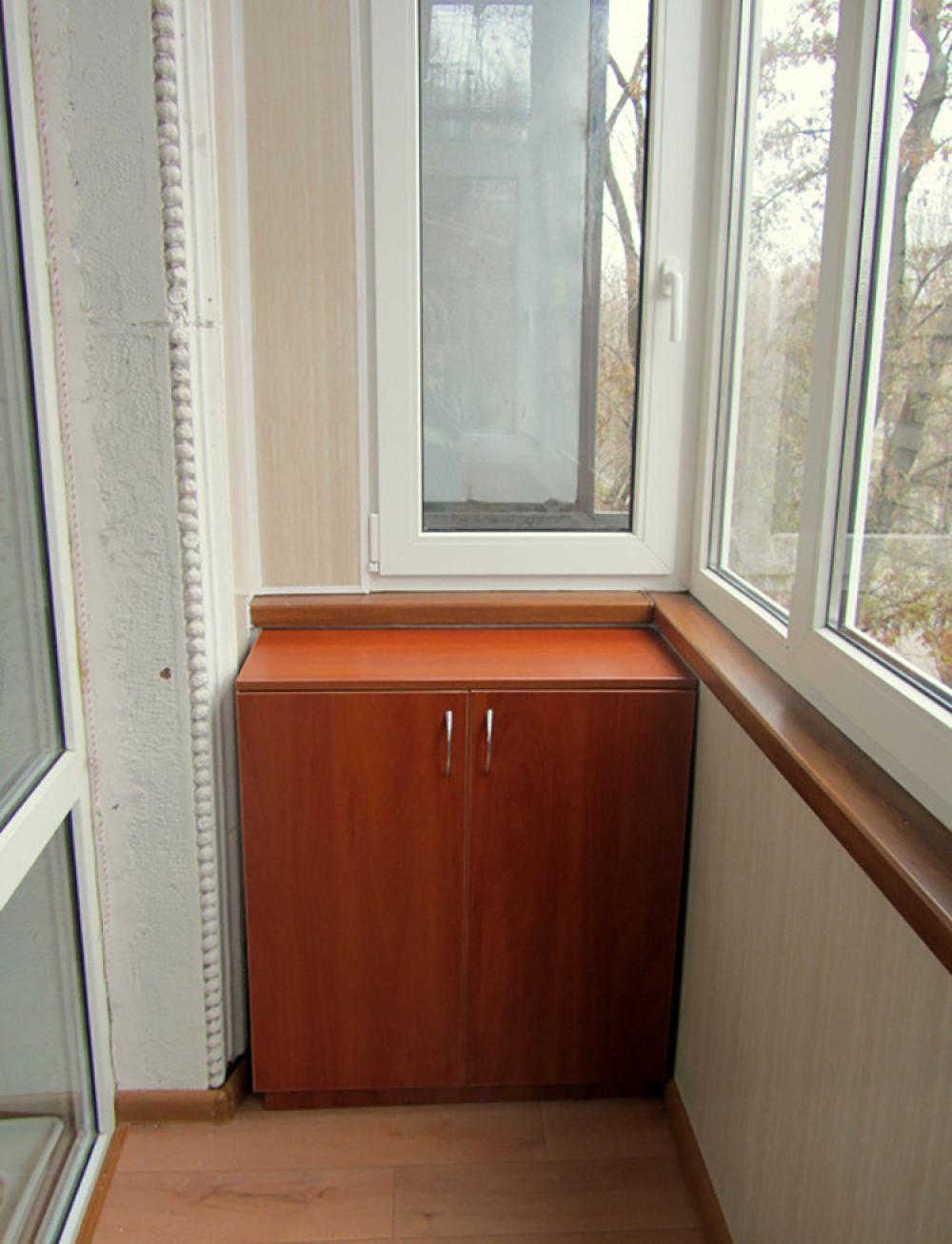Тумба на балкон своими руками 46