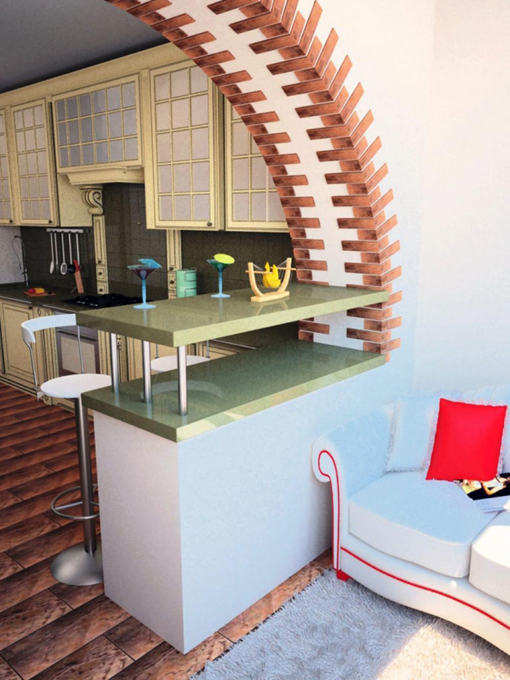Дизайн комнаты с балконом (лоджией): выбор стиля.