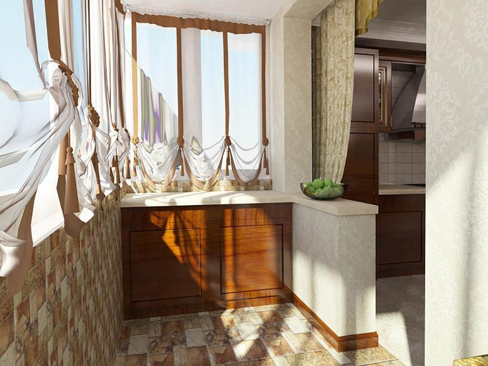 Примеры обшивки балконов и лоджий гипсокартоном.