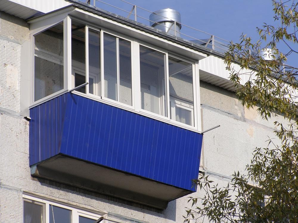 Крыши для балконов и лоджий под ключ.