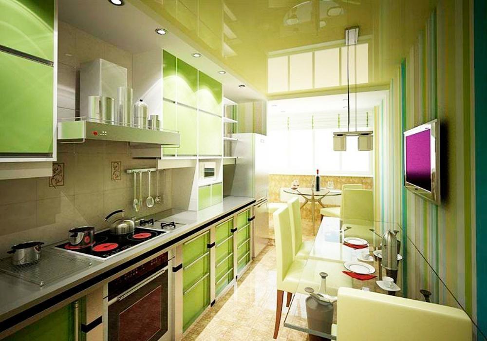 Кухни малогабаритные - 45 фото, топ-5 решений для маленькой .