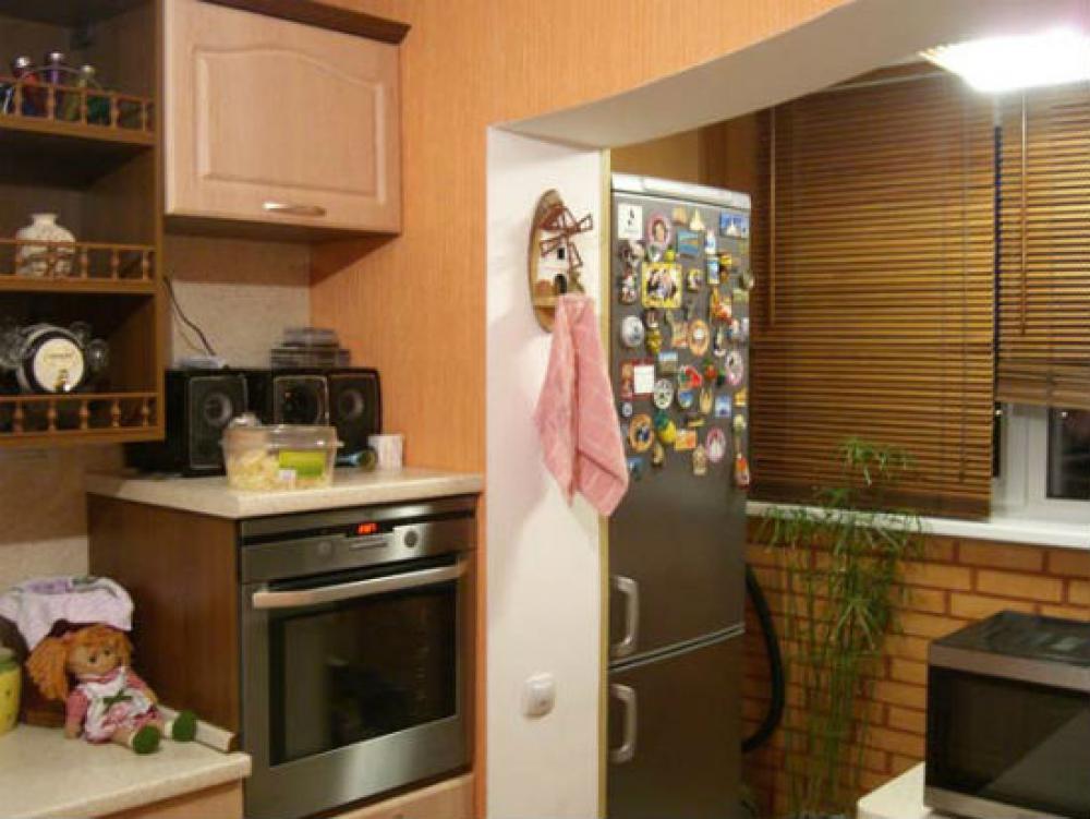 Дизайн кухни с лоджией - 35 фото для вдохновения.
